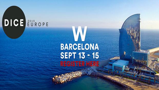 Kevin Franklin de 343i vendrá a la conferencia de DICE en Barcelona 1