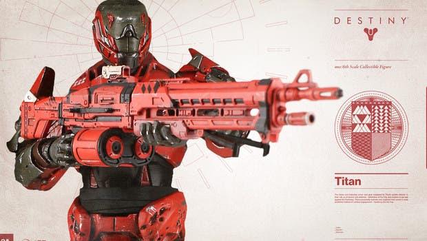 La próxima semana se pondrá a la venta esta espectacular figura de Destiny 1