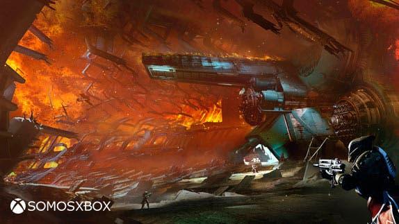 Destiny: El Rey de los Poseídos, imágenes conceptuales 1
