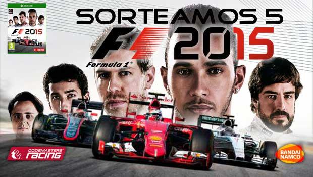 Sorteamos 5 copias físicas de F1 2015 para Xbox One 1