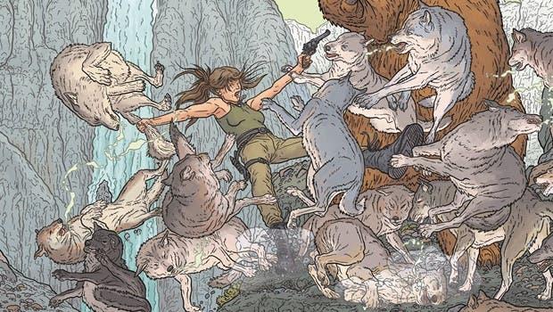 Microsoft lanza una ilustración de Rise of the Tomb Raider con motivo de la Comic-Con 2015 1