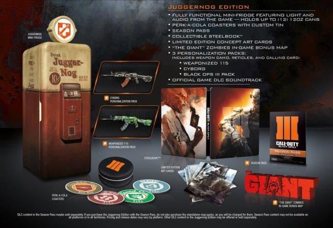 Call of Duty: Black Ops 3 Juggernog Edition filtrada 1
