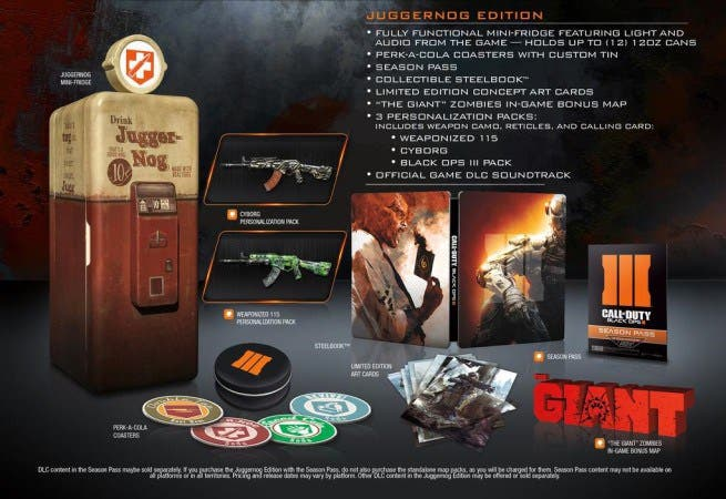 Call of Duty: Black Ops III, unboxing de la Juggernog Edition (con neverita incluida) 1