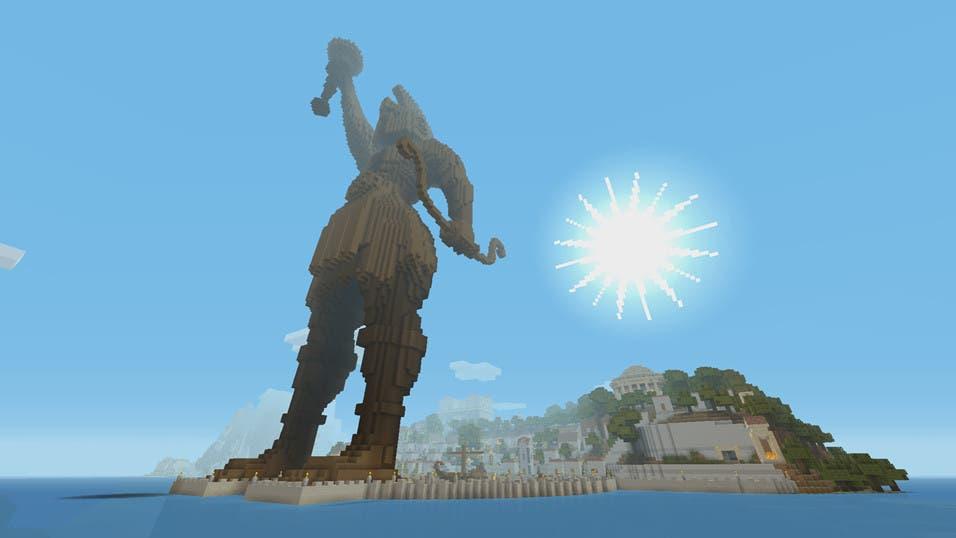 Ya disponible el Mashup Pack de Mitología Griega en Minecraft 1
