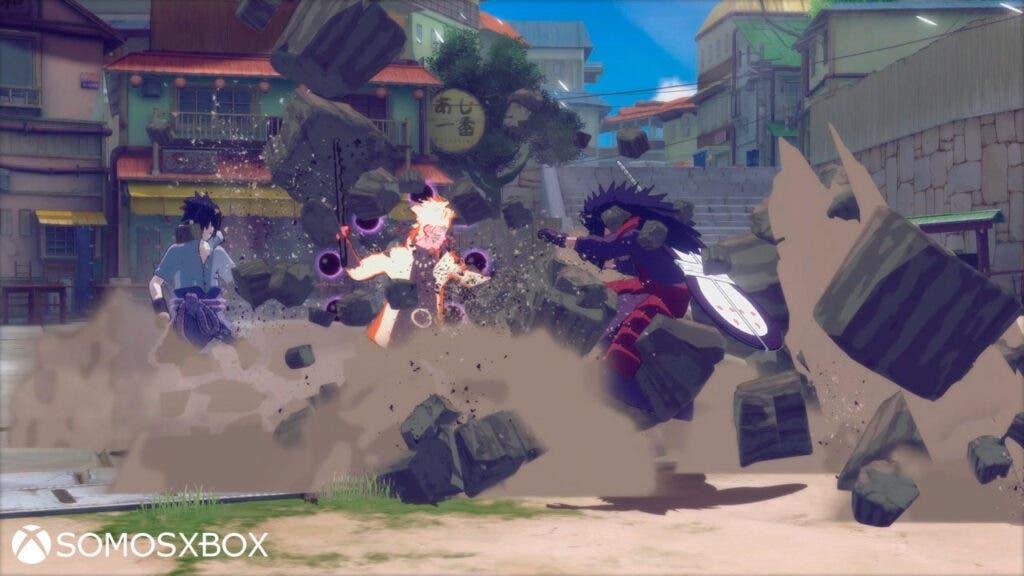 Trailer e imágenes de Naruto SUN Storm 4 5