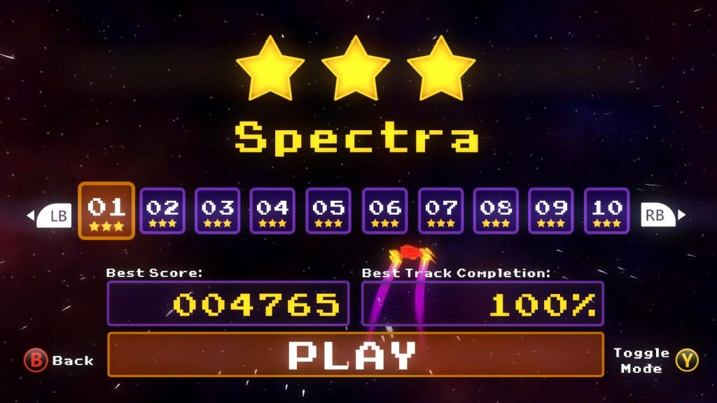 Spectra play