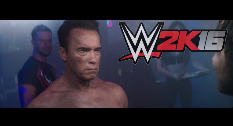 Terminator ha vuelto, para reinar en la WWE 2k16 1