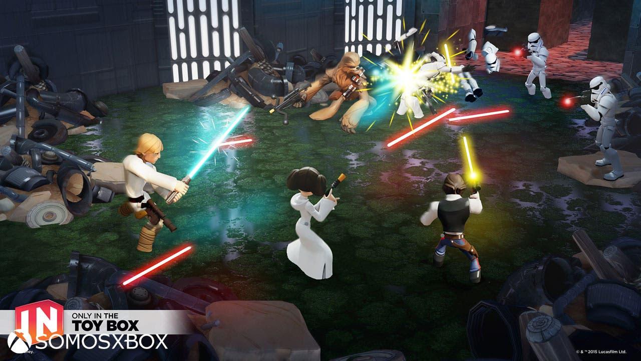 Star Wars Twilight of the Republic, vídeo del playset para Disney Infinity 3.0 9