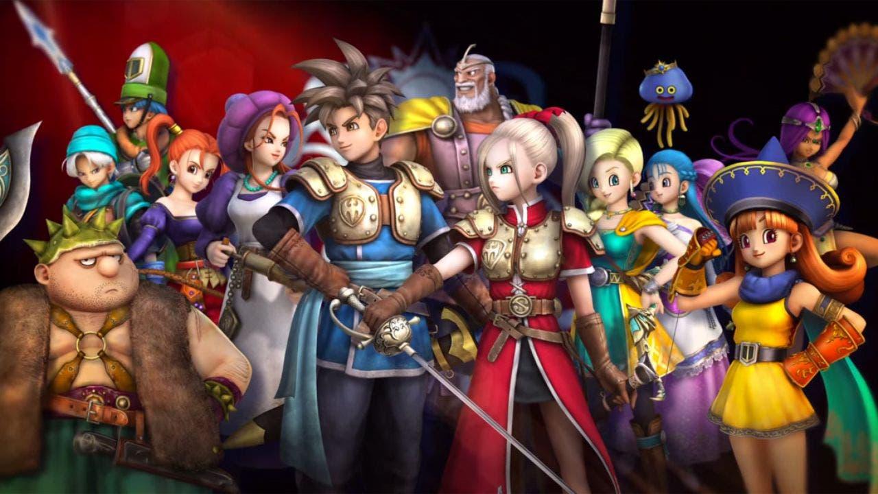 ¿Podría salir Dragon Quest Heroes en Xbox One? 1