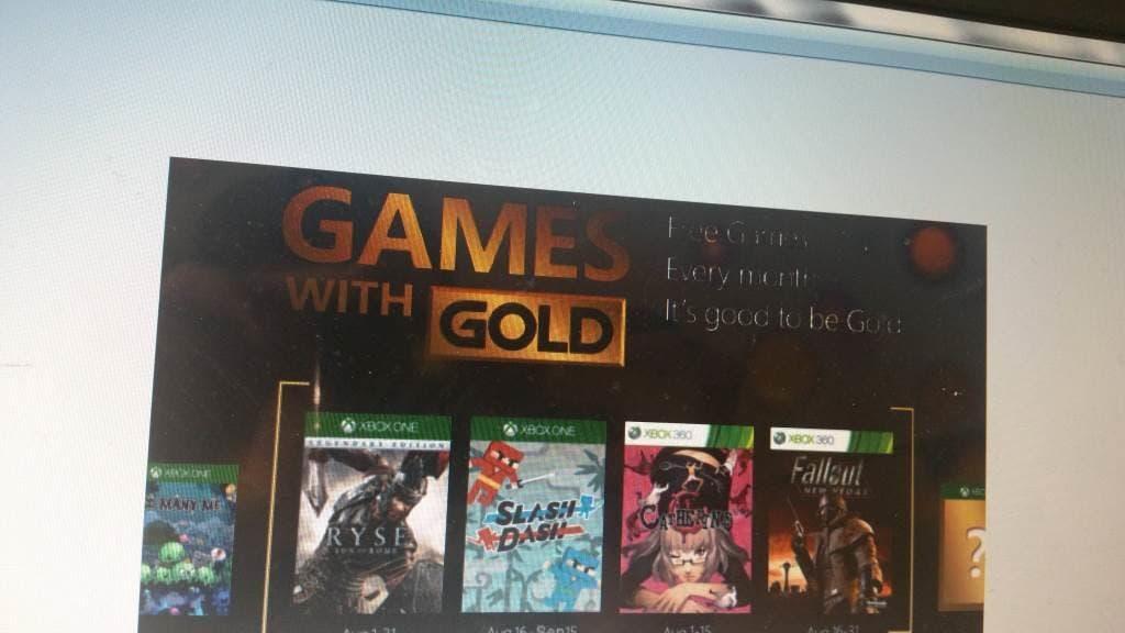 [Actualizado] Filtrados los posibles Games With Gold de agosto para Xbox One y Xbox 360 1