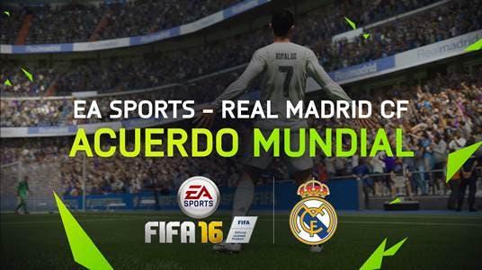 EA Sports se convierte en partner mundial del Real Madrid 1