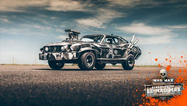 Un afortunado ganará un Mustang decorado como el Magnus Opus de Mad Max 1