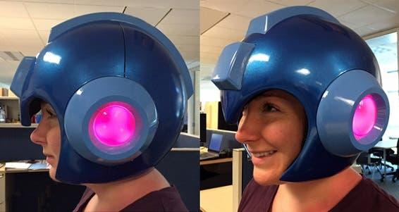 ¿Queréis un casco de Mega Man que funciona de verdad? 1