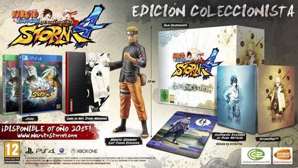 Precio de la edición coleccionista de Naruto Shippuden: Ultimate Ninja Storm 4 1