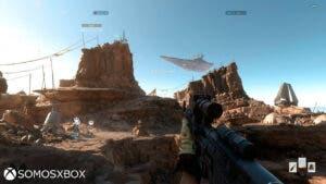 Imágenes de la alpha de Star Wars: Battlefront 44