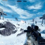 Imágenes de la alpha de Star Wars: Battlefront 14