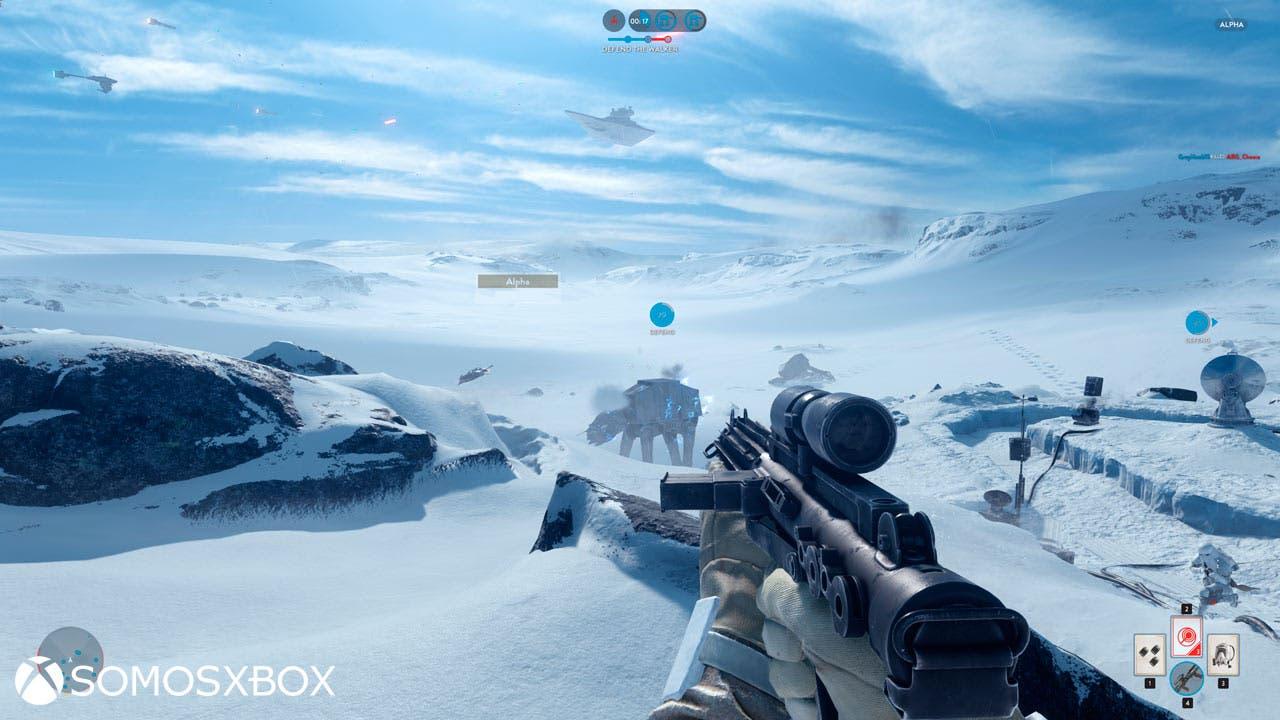 Nuevo extenso gameplay de Star Wars: Battlefront 1