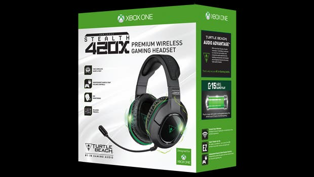 Ya puedes reservar los Ear Force Stealth 420x de Turtle Beach para Xbox One 1