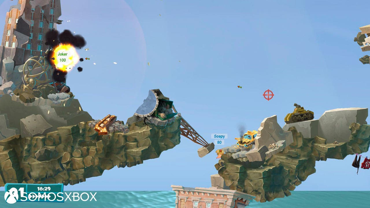 Worms Weapons of Mass, o Worms WMD, para Xbox One 1