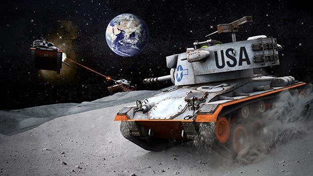Celebra la llegada del hombre a la Luna con World of Tanks 1