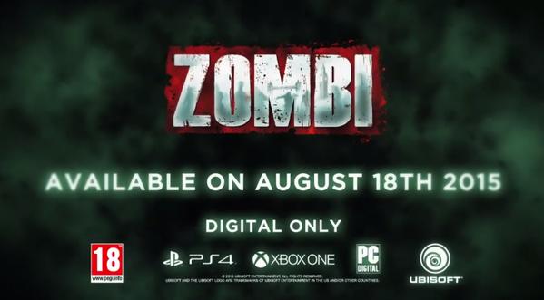 Zombi para Xbox One, fecha de lanzamiento y primer trailer 1