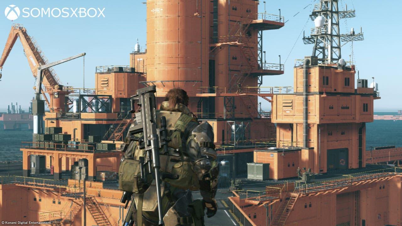Metal Gear Solid V: The Phantom Pain comparativa