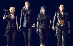 Si el sexo de los protagonistas de Final Fantasy XV fuese el contrario serían más o menos así
