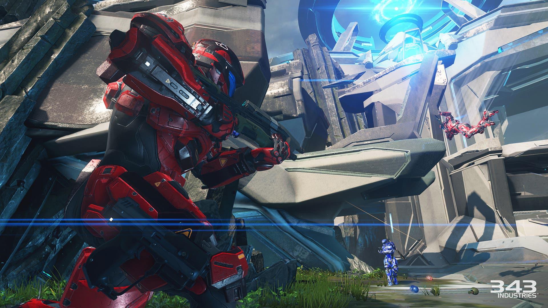 Extenso gameplay del modo Warzone de Halo 5: Guardians con el uso de vehículos 1