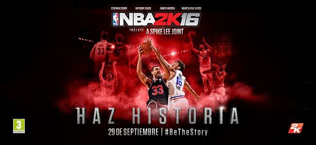 """NBA 2K16 nos trae un nuevo vídeo sobre """"Jugar ya en línea"""" 5"""