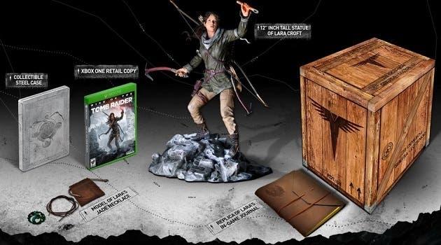Unboxing de la Edición Coleccionista de Rise of the Tomb Raider 1