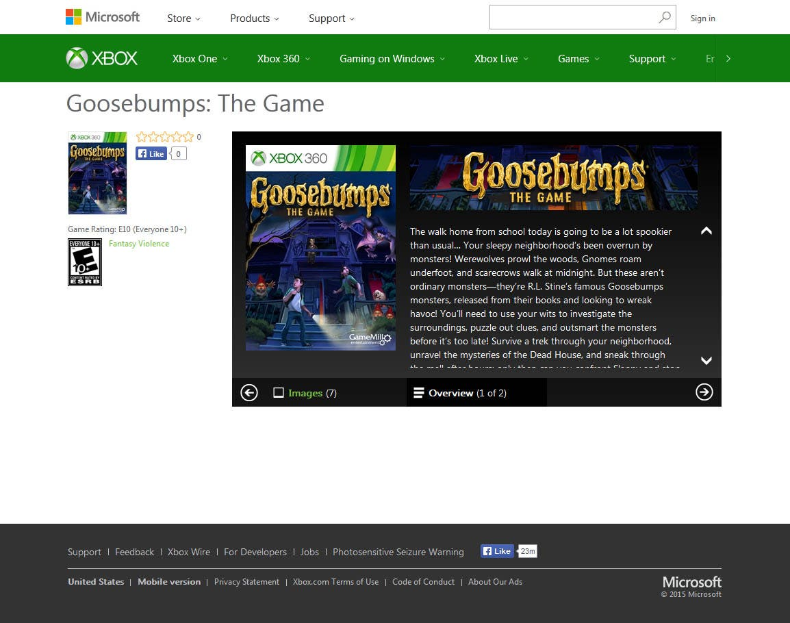 goosebumps-the-game-xbox-store