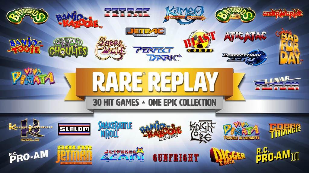 Rare Replay es exclusivo de Xbox One, no llegará a Wii U 14