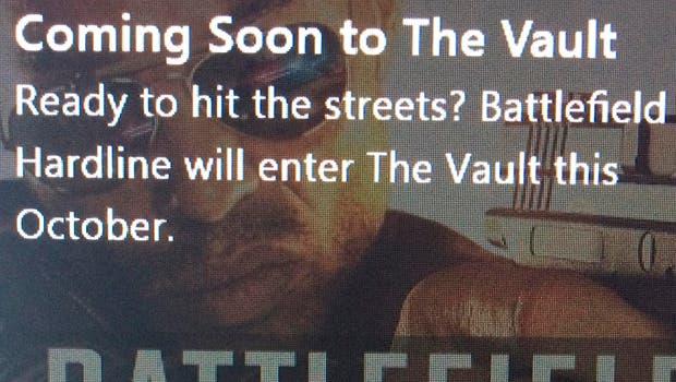 Battlefield Hardline llegará a The Vault en octubre 1