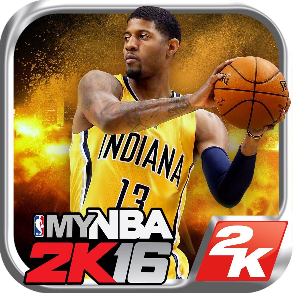 app móvil de NBA 2k16