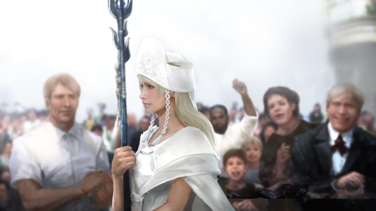 Dos nuevas imágenes de arte de Final Fantasy XV 7