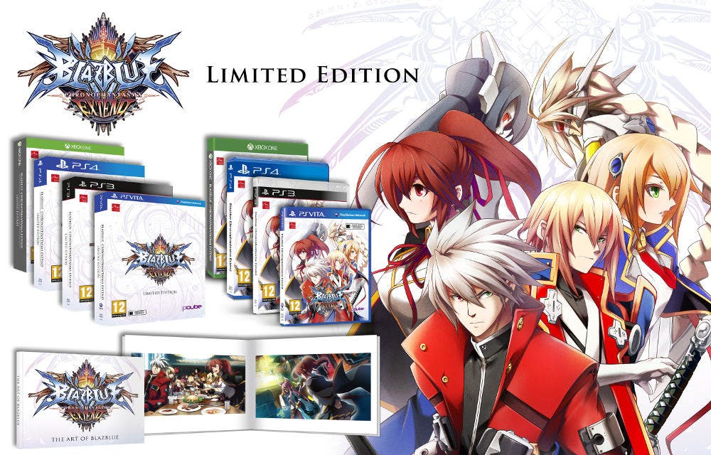 BlazBlue Chronophantasma Extend limited
