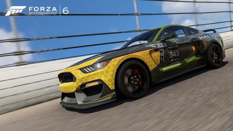 Forza Motorsport 6 recibe dos Mustang inspirados en Halo 5: Guardians 1