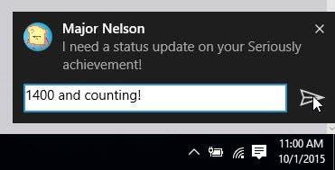 actualización para la App de Xbox de Windows 10