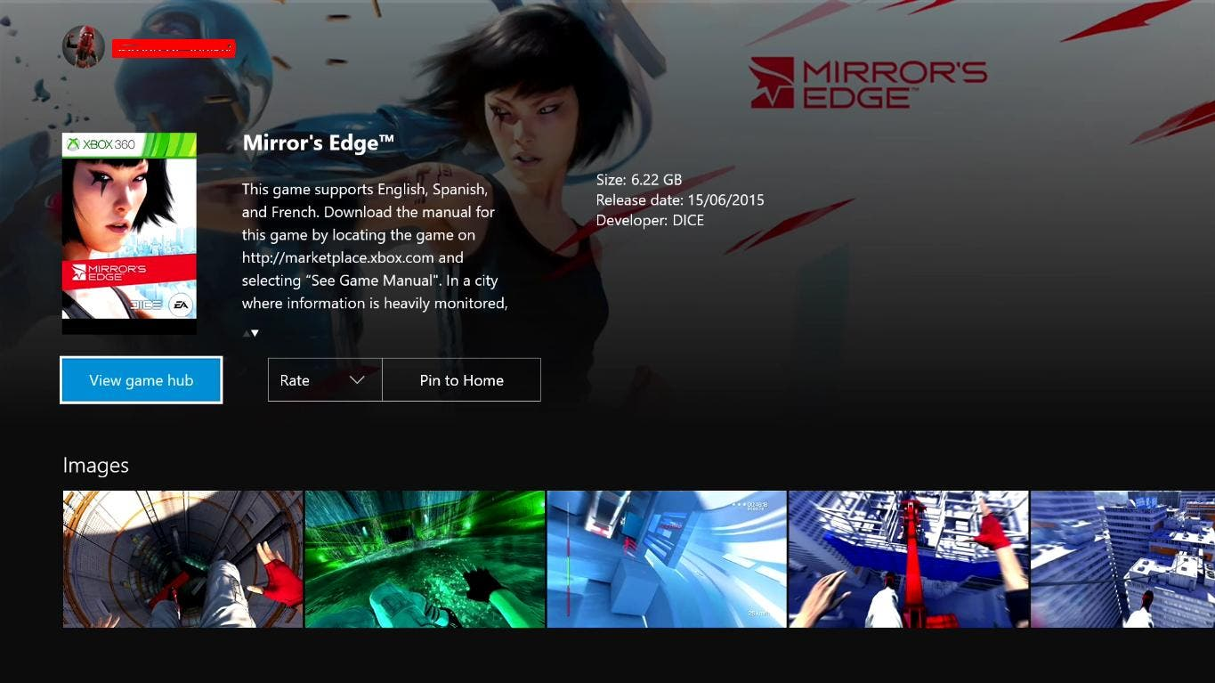 MirrorsEdge1XboxOne