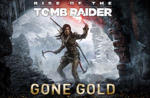Rise of the Tomb Raider ya es gold