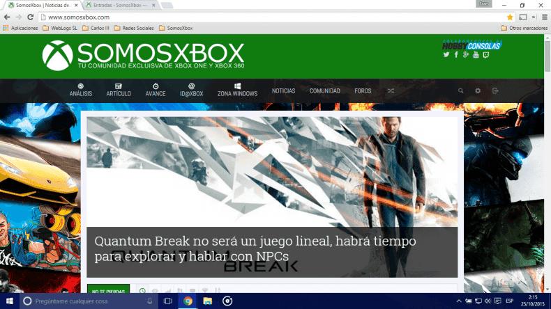 ¡Bienvenido a la nueva experiencia SomosXbox! 1