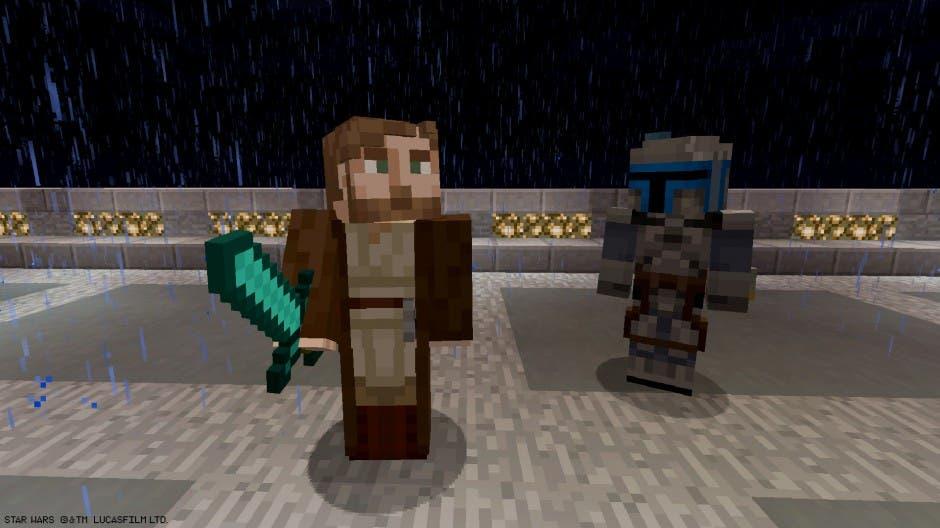 Los personajes de la trilogía nueva de Star Wars aterrizan en Minecraft 1