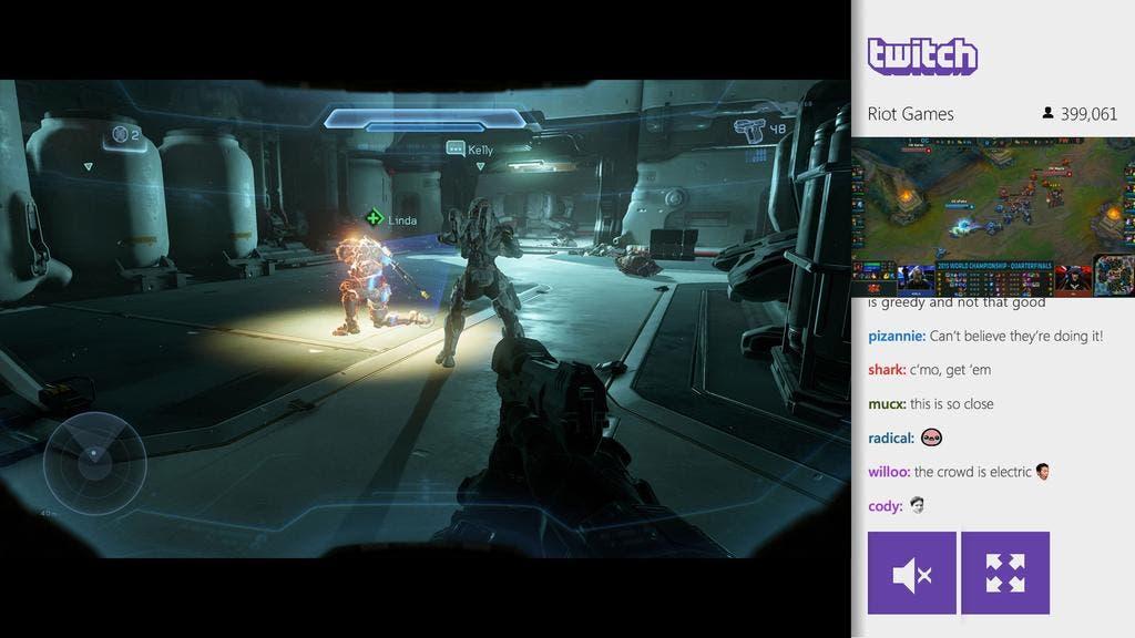 Nueva actualización para la app de Twitch permite chatear en Snap Mode 1