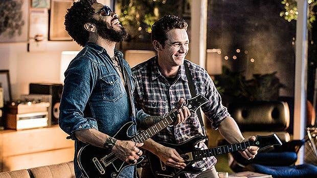 Guitar Hero Live enfrenta a James Franco y Lenny Kravitz en una épica batalla de rock 1