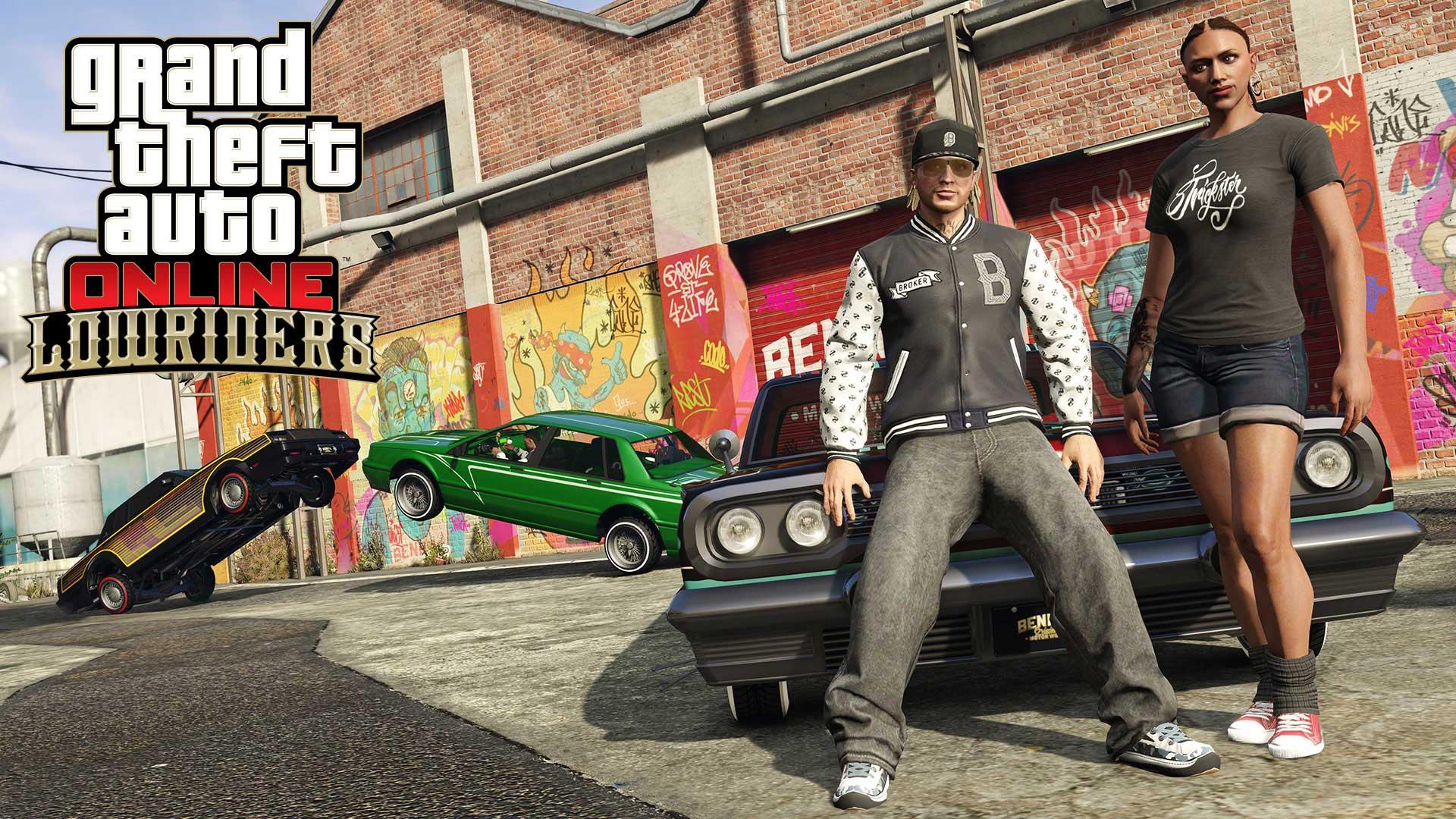Lowriders, personaliza tu coche en GTA Online con la nueva expansión 1