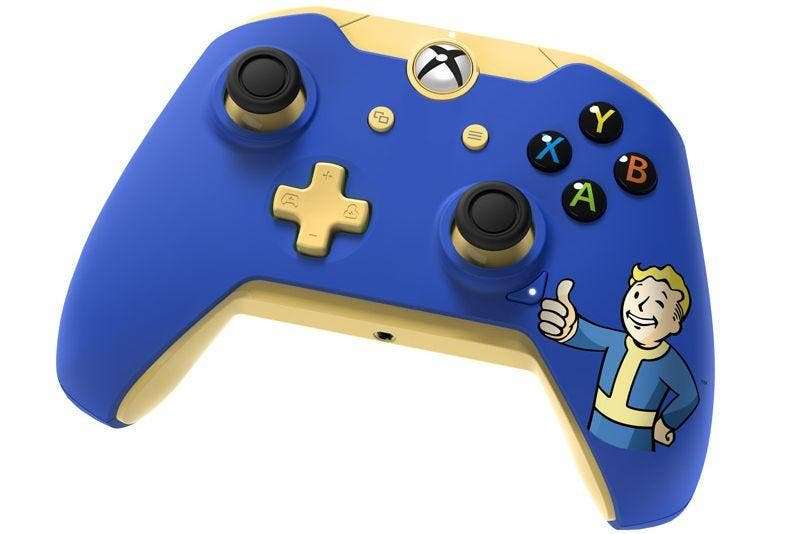 Este es el mando oficial de Fallout 4 para Xbox One, nuevos objetos para la tienda de Bethesda 1