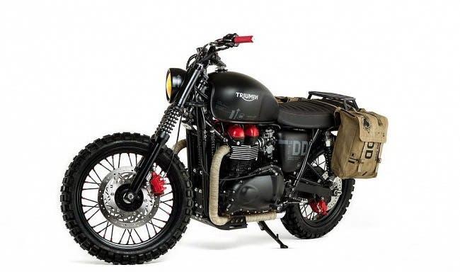 Se subasta en eBay la exclusiva moto Triumph de Metal Gear Solid V The Phantom Pain 1