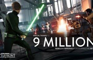 9 millones de usuarios han jugado a la beta de Star Wars Battlefront, récord en EA