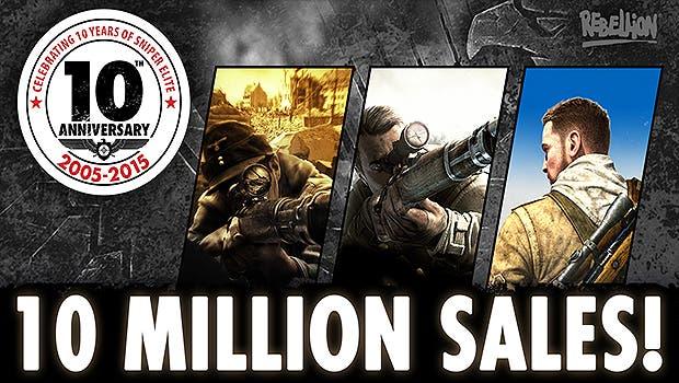 La saga Sniper Elite ha logrado superar los 10 millones de unidades vendidas en todo el mundo 3