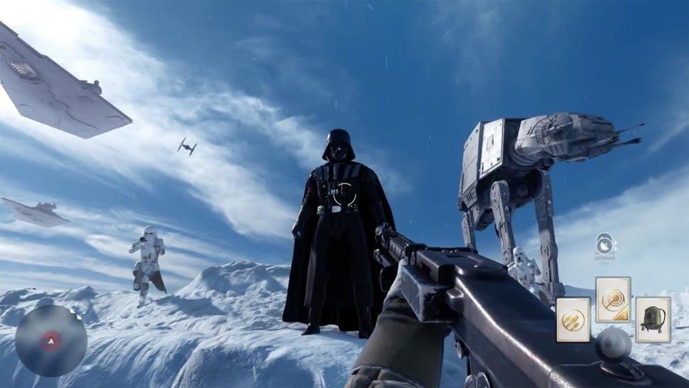 Nuevo tráiler de Star Wars Battlefront centrado en los héroes y villanos 1